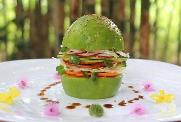Burger végétarien 100% organique
