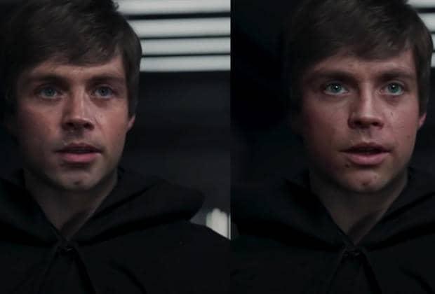 Deepfake Luke Skywalker The Mandalorian