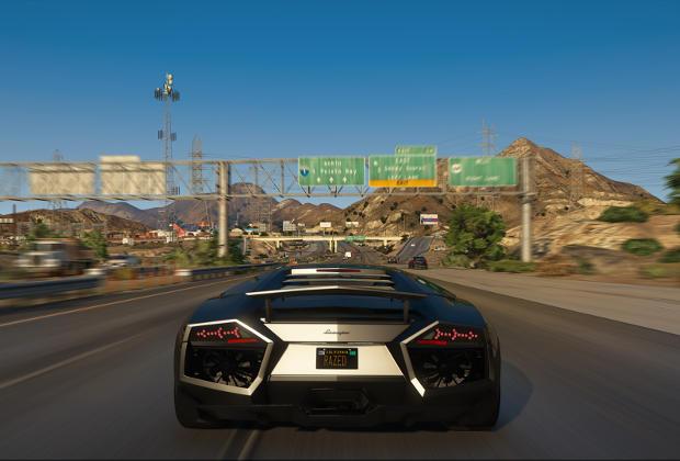 Mod GTA 5 Natural Vision 4K