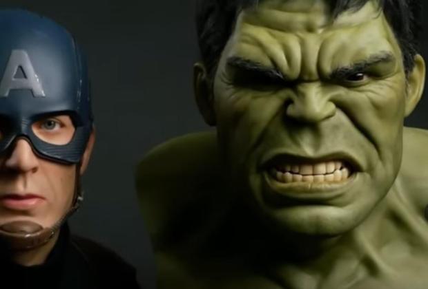Sculpture de Hulk