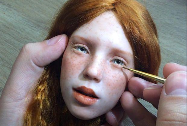 Les incroyables poupées de Michael Zajkov