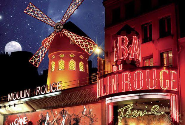 Spectacle du Moulin Rouge avec champagne