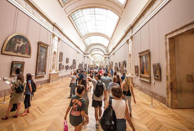 Billet d'entrée musée du Louvre