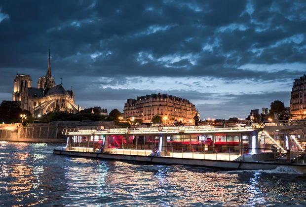 Croisière Illuminations de Paris
