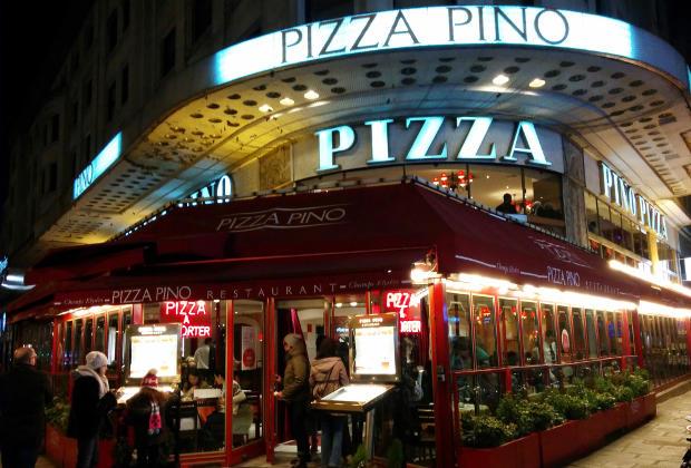 Pizza Pino Champs Elysées