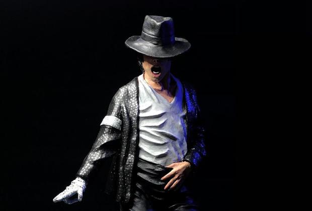 Sculpture de Michael Jackson Billie Jean