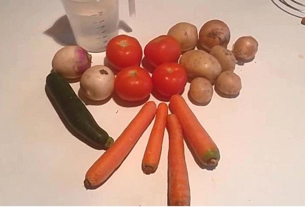 Recette soupe de légumes fait maison