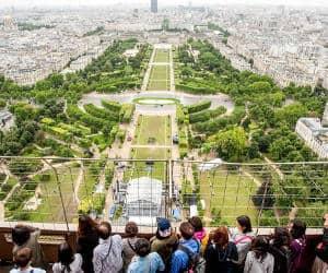 Tour Eiffel visite du 2e étage