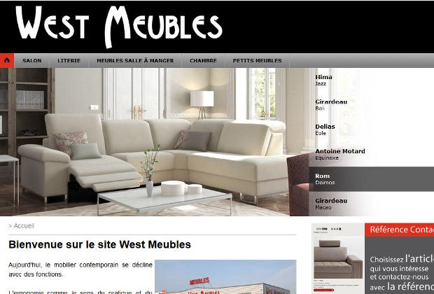 magasin west meubles lamballe sp cialiste mobilier design et literie. Black Bedroom Furniture Sets. Home Design Ideas